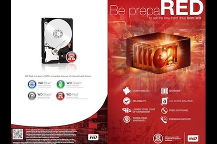 WESTERN DIGITAL RED DRIVE PRODUCT LAUNCH